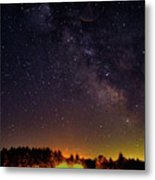 Milky Way, Moultonborough, Nh Metal Print