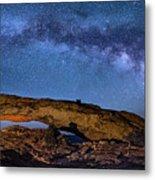 Milky Way Over Mesa Arch Metal Print