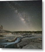 Milky Way Over The Texas Hill Country 2 Metal Print