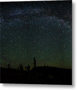Milky Way Panorama Metal Print