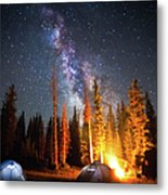 Milky Way Metal Print by William Church - Summit42.com