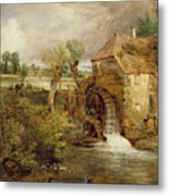 Mill At Gillingham - Dorset Metal Print