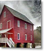 Mill At Whitewater Cree Metal Print