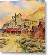 Mill Bodie Ghost Town California Metal Print