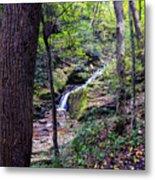 Mill Creek Falls Metal Print