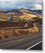 Mill Creek Rd Metal Print