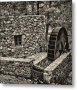 Mill Creek Water Wheel Metal Print