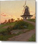 mill in Molle Metal Print