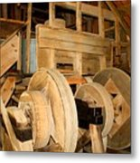 Mill Mechanism Metal Print
