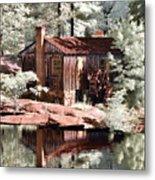 Mill Pond Dreamscape Metal Print