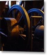 Mill Power Metal Print