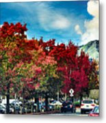 Mill Valley Autumn Metal Print