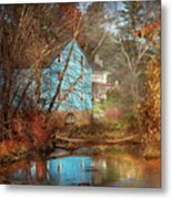 Mill - Walnford, Nj - Walnford Mill Metal Print