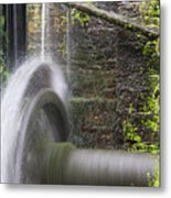 Mill Wheel Metal Print by Stefano Piccini