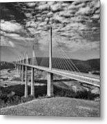 Millau Bridge France Metal Print