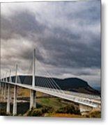 Millau Viaduct Metal Print