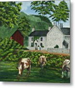 Milldale In Staffordshire Metal Print