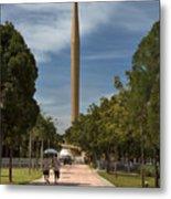 Millennium Monument Metal Print
