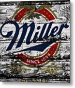 Miller Beer 5b Metal Print