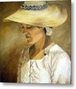 Milliners Daughter Metal Print