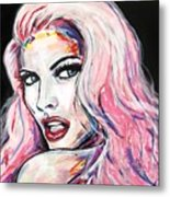 Million Dollar Babe Metal Print