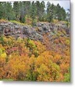 Million Dollar Highway Fall Color Metal Print