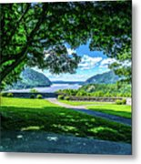 Million Dollar View From West Point Military Academy Metal Print