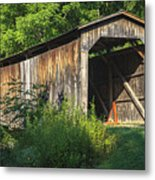 Milton Dye Covered Bridge  Metal Print