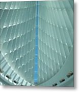 Milwaukee Art Museum Interior Metal Print