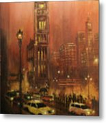 Milwaukee City Hall Metal Print