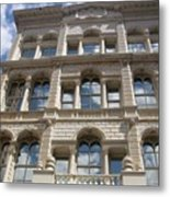 Milwaukee Cloud Reflections Metal Print