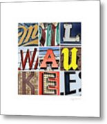 Milwaukee Metal Print