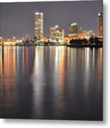 Milwaukee Skyline 2012 Metal Print