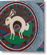 Mimbres Inspired #9a Metal Print