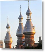 Minarets Over Tampa Metal Print by David Lee Thompson