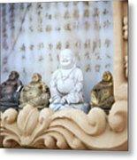 Minature Buddhas Metal Print