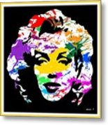 Mind Altering Marilyn Metal Print