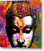 Mind Metal Print by Ramneek Narang