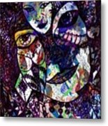 Mind Reader Metal Print