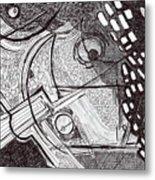 Minds Eye View Metal Print