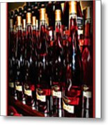 Miner Pink Sparkling Wine Metal Print