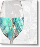 Mineral Water Metal Print