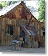 Miners Cabin. Metal Print