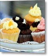 Mini Cupcakes 7813 Metal Print