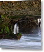 Mini Falls Laguna Beach Metal Print