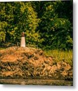 Mini Lighthouse Metal Print