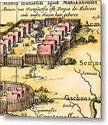 Minisink Village, 1650s Metal Print