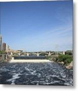 Minneapolis - Saint Anthony Falls Metal Print