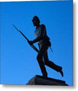 Minnesota Soldier Monument At Gettysburg Metal Print
