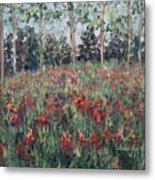 Minnesota Wildflowers Metal Print